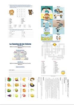 Spanish Lesson Plans Pack (Age 11+) Vol.1