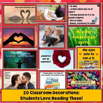 Spanish Valentine's Day Activities, Día de San Valentín, los Enamorados Lessons