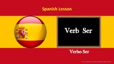 Spanish Lesson: Verb Ser (Exercises and Answers included)