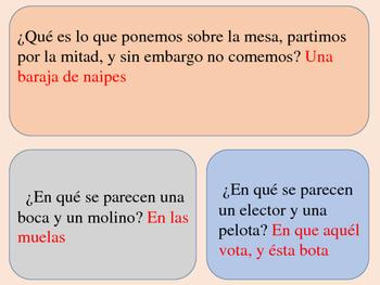 Spanish Lesson help
