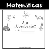 Spanish:  Letter A Counting Book 1-5/ Cuenta con la letra A