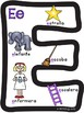 Spanish Letter Anchor Charts