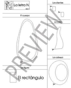 Spanish Letter Animal Craft