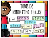 Spanish Letter Fluency Strips