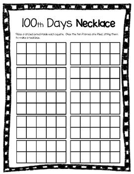 100 Days of School /100 días de escuela