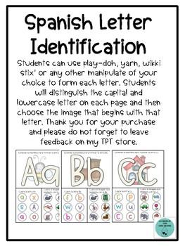 Spanish Letter Identification