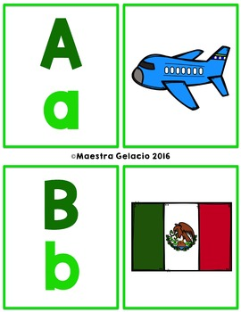 Spanish Letter Matching