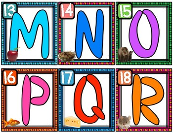 Spanish Letter Playdough Cards and Mats
