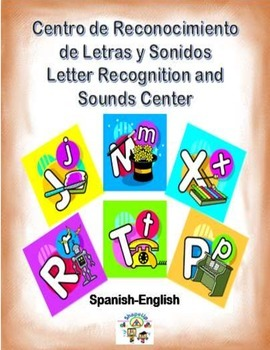 Spanish Letter Recognition and Sounds / Letras y Sonidos in a Station