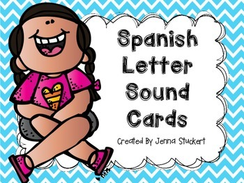Spanish Letter Sound Cards FREEBIE!