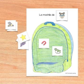 Spanish Letter Sound Matching Game - Juego de clasificación de sonidos