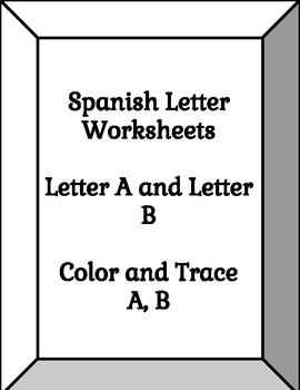 Spanish Letter Worksheets