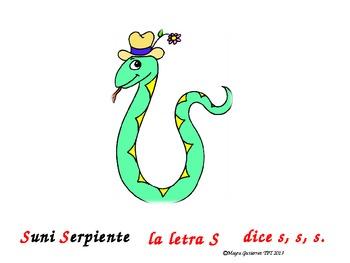 Spanish Letter of the week PowerPoint S   Letra de la semana PowerPoint S