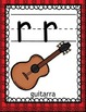 """In Spanish FREE Alphabet Set / Letter rr / La letra """"rr"""""""