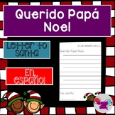 Spanish Letter to Santa- Querido Papá Noel