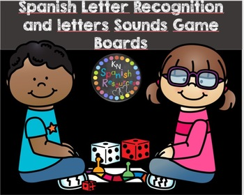 Spanish Letters Recognition and Letter Sounds Game