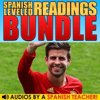 Spanish Leveled Readings - BUNDLE
