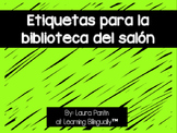 Spanish Library Labels