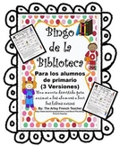 Spanish Library Reading Bingo Game