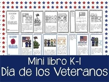 Dia de los Veteranos - Mini-libro
