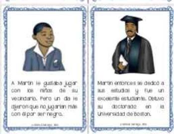 Martin Luther King Jr.  Mini-libro sobre la vida de MLK Jr.