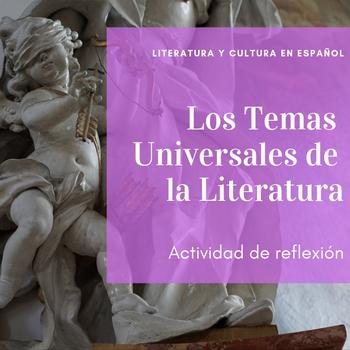Spanish Literature: Temas Universales de la Literatura (con dichos en latín)