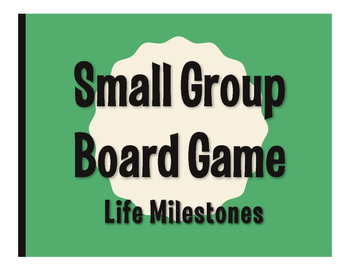 Spanish Life Milestones Board Game