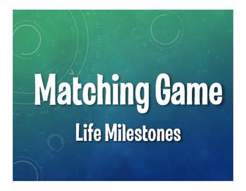 Spanish Life Milestones Matching Game