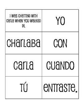 Spanish Life Milestones Sentence Mixer