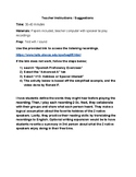 Spanish Listening Activity- Practice with Gustar & Hobbies