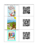 Spanish Listening Center QR Codes: Winter themed
