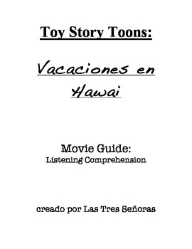 Spanish Listening Comprehension Activity:  Toy Story Toons
