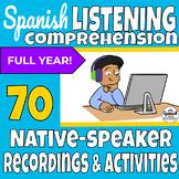 Spanish Listening Comprehension Bundle for Beginners