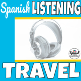 Spanish Listening Comprehension: Travel, Airport and Train
