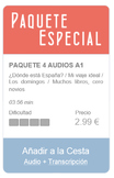 Spanish Listening (beginners): 4 in 1 SPECIAL PACKAGE