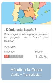 Spanish Listening (beginners): ¿Dónde está España?