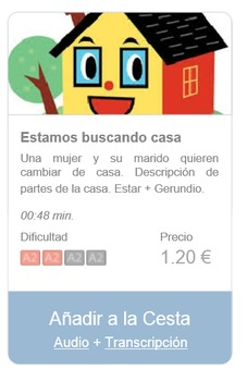 Spanish Listening (beginners): Estamos buscando casa