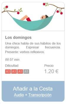 Spanish Listening (beginners): Los domingos