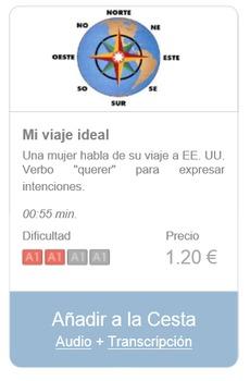 Spanish Listening (beginners): Mi viaje ideal