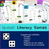 Spanish Literacy Games - Juegos en español (Sonidos, sílabas y palabras)
