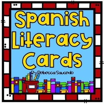 Spanish Vocabulary Oracy Cards
