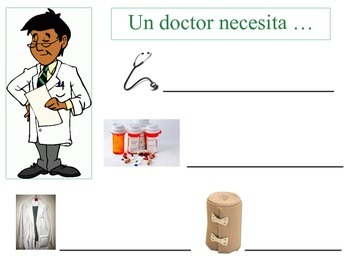Spanish Literacy Packet: Cuidadores