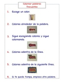 Spanish Literacy Station Instructions (Set of 6)