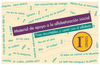 Spanish Literacy Strips and Alphabet in Spanish for 1st Grade