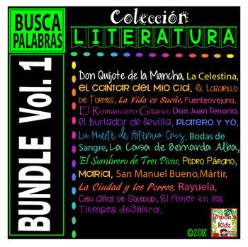 Spanish Literature  BUNDLE  Vol. 1