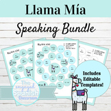 Spanish Speaking Activity BUNDLE | Llama Mía