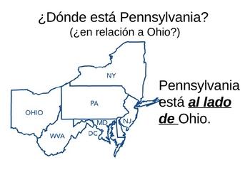 Spanish Location