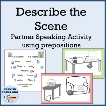 Spanish Location words: Pre... by SpanishPlans | Teachers Pay Teachers