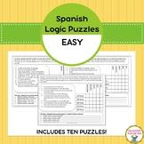 Spanish Logic Puzzles:  Easy