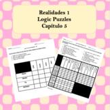 Spanish Logic Puzzles Realidades 1 5A and 5B